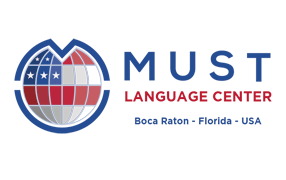 Logo Must Language Center
