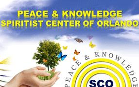 Logo PEACE & KNOWLEDGE Spiritist Center of Orlando
