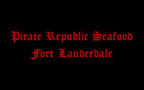 Logo Pirate Republic Seafood