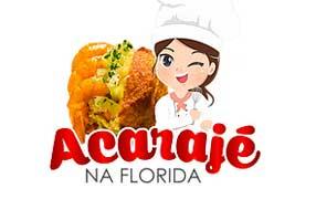 Logo Acaraje na Florida