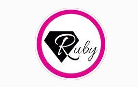 Logo Ruby Beaultiful Usa